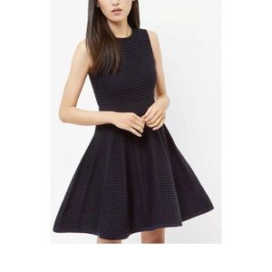 Ted Baker London Nadyne Ottoman Flare Blue Dress 4